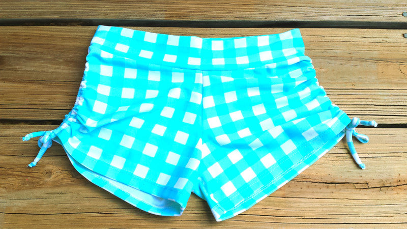 Yoga Shorts *Peggy Sue Gingham