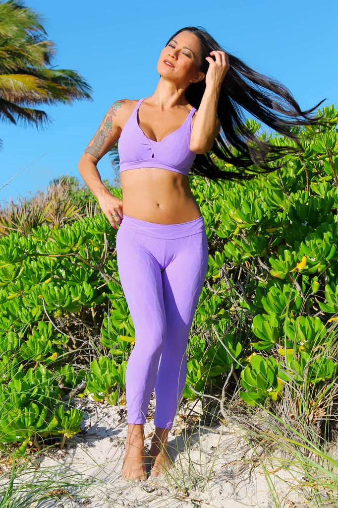 Lavender Long Leggings