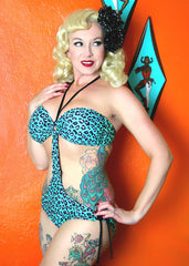 Bedrock Betty Bandeau Monokini