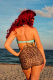 Leopard Lounge Bandea Bow Tie Bottom & High Waist Bottom Swimsuit