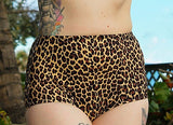 Leopard Lounge High Waist Bottom