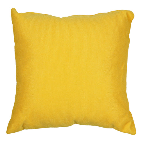 Cortesi Home Aimee Decorative Square Accent Pillow, Yellow