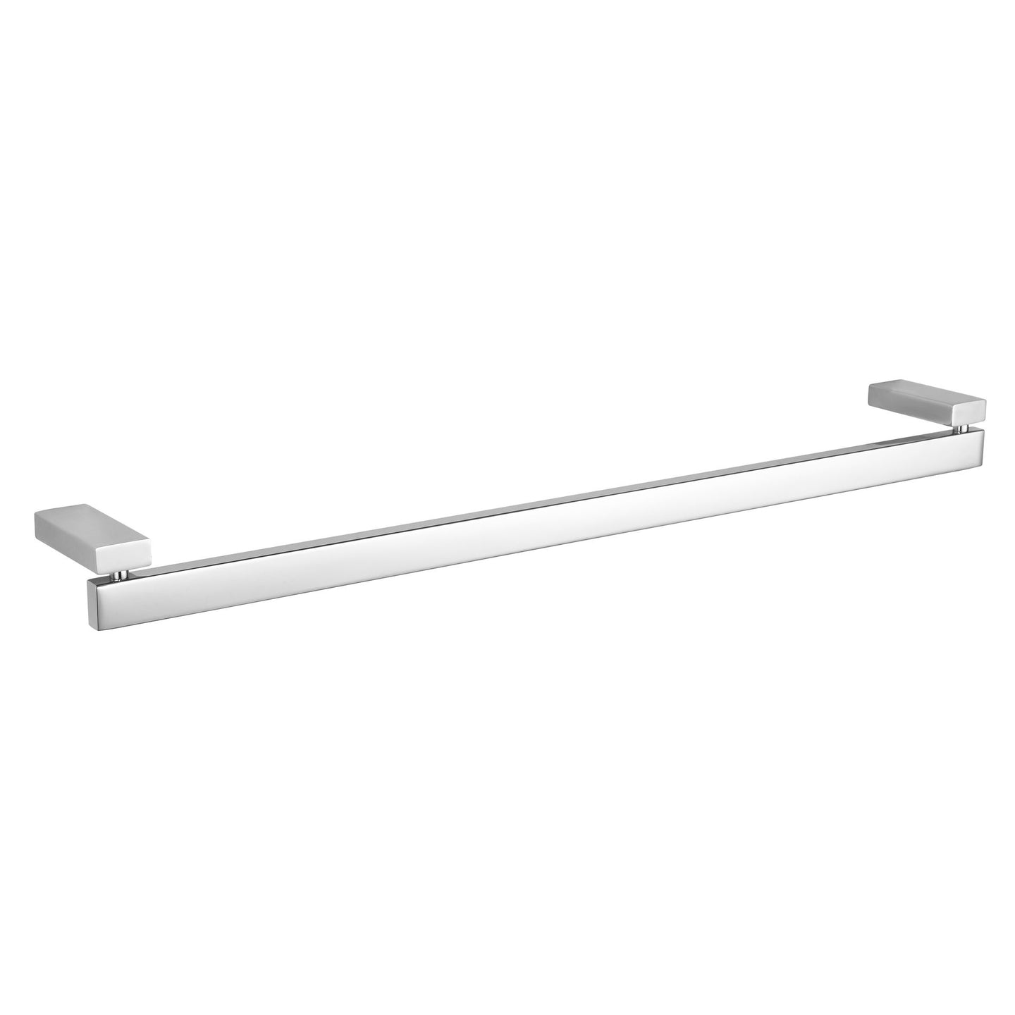 Enzo Contemporary Stainless Steel Towel Bar, Chrome