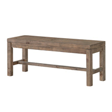 Cortesi Home Stonemill Dining Bench in Solid Reclaimed Pine Wood, 44""