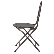 Cortesi Home Bebe Indoor/Outdoor Metal Folding Chair, set of 2