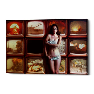 "Cortesi Home ""Retransmission"" by Mario Sanchez Nevado, Giclee Canvas Wall Art"