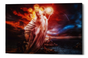 "Cortesi Home ""St. Mary of Coins"" by Mario Sanchez Nevado, Giclee Canvas Wall Art"