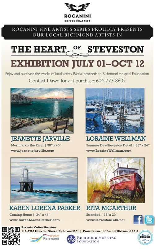 Rocanini Artist Series | The Heart of Steveston