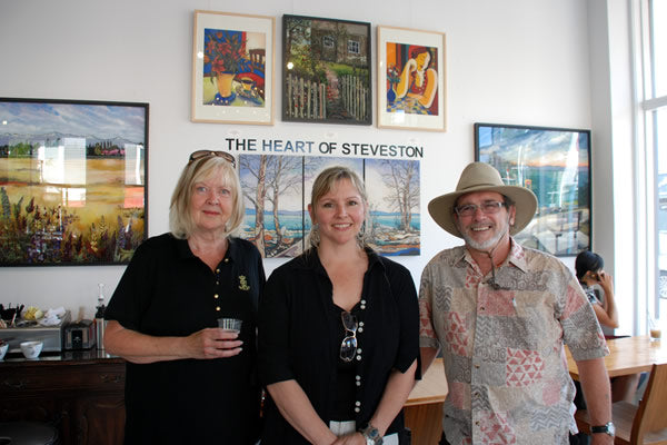 The Heart of Steveston Artists at Rocanini (July 1-Oct 12, 2012)