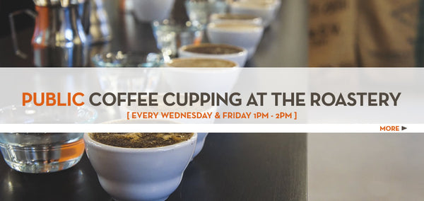Public Coffee Cupping at the Roastery