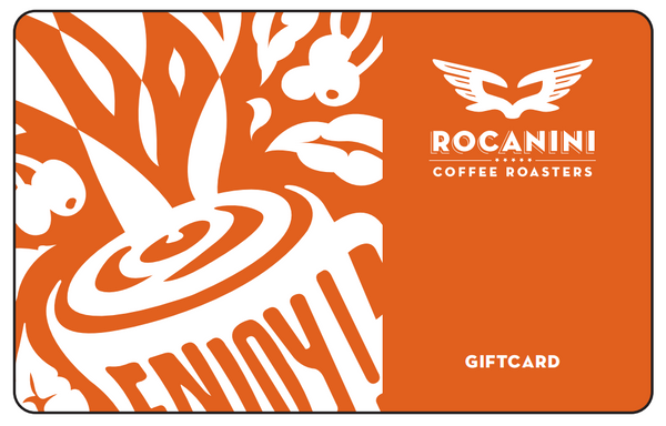 Gift Card - physical card for Cafe - Rocanini Coffee Roasters