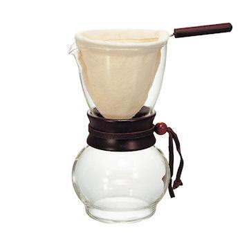 Hario Cloth Drip Pot Woodneck 240ml