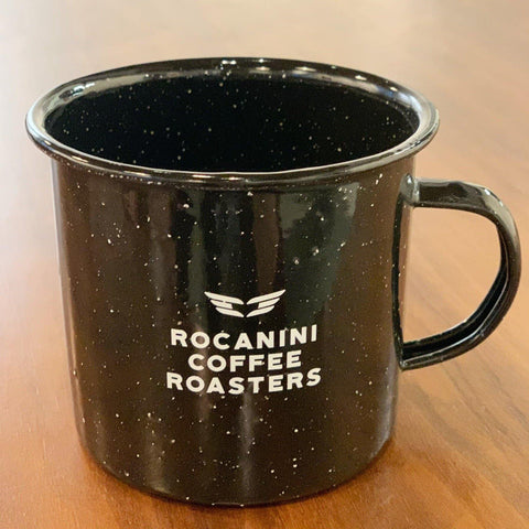 Enamel Camp Mug - Rocanini Coffee Roasters