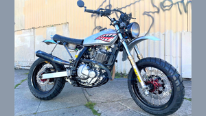 My Suzuki DR650 takes on the Dirtbag Challenge