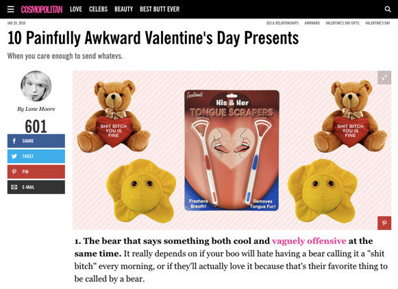 Cosmo's Awkward Valentine's Day suggestions