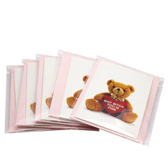 5-PACK! Shit Bitch Bear Valentine's Cards