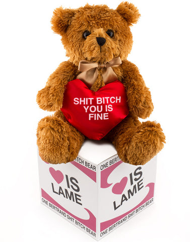 shit bitch you is fine bear  from loveislame