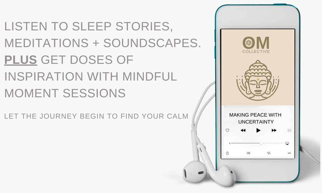 free meditations and  sleep stories the om collective podcast