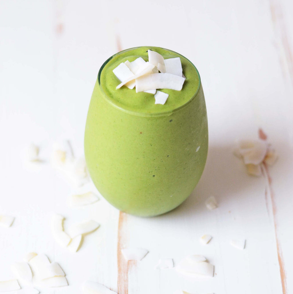 Get Glowing With Green Smoothies