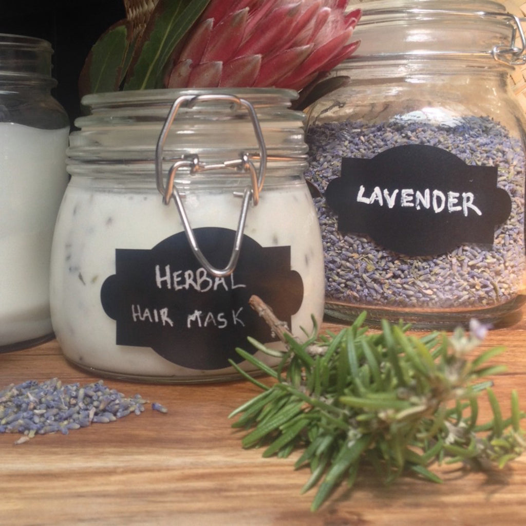 DIY Rosemary And Lavender Hair Mask