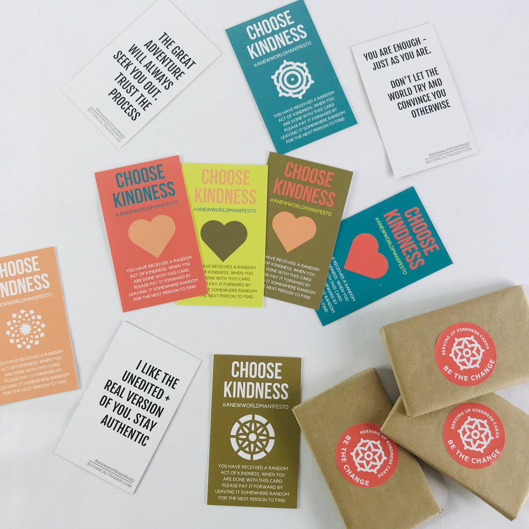 Serving Up Kindness Cards [Free Shipping World-Wide]
