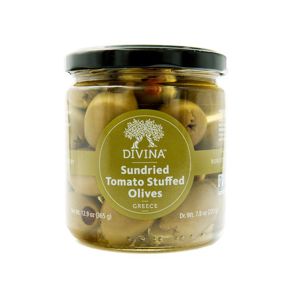 Sundried Tomato Stuffed Olives