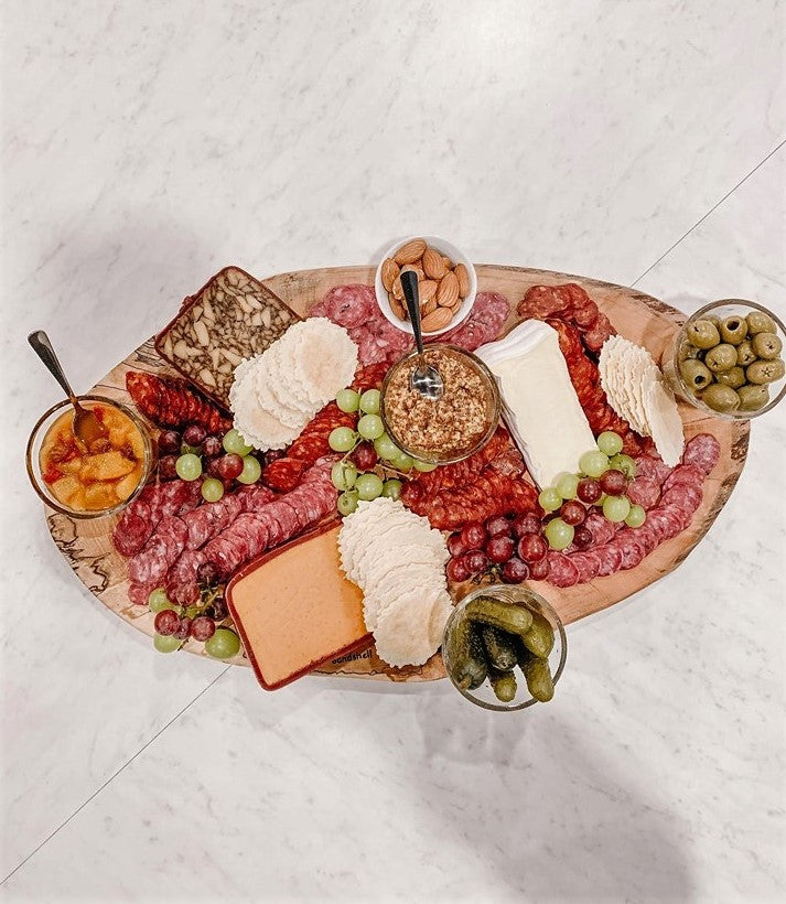Backyard Charcuterie Board