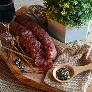 Artisinal Dry Sausage - Five Peppers
