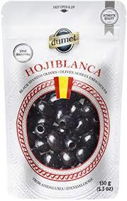 Hojiblanca Spanish Black Olives