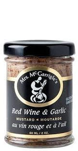 Red Wine & Garlic Mustard