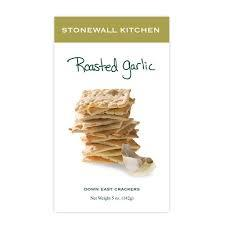 Stonewall Kitchen Roasted Garlic Crackers