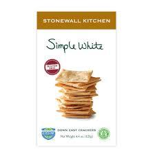 Stonewall Kitchen Simple White Crackers
