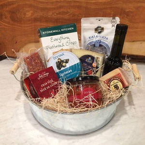 Gift Basket Mediterranean Sun & Salt - The Perth Cheese Shop