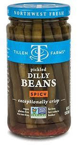 Pickled Dilly Beans - Spicy