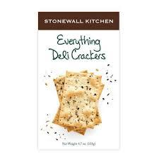 Stonewall Kitchen Everything Deli Cracker