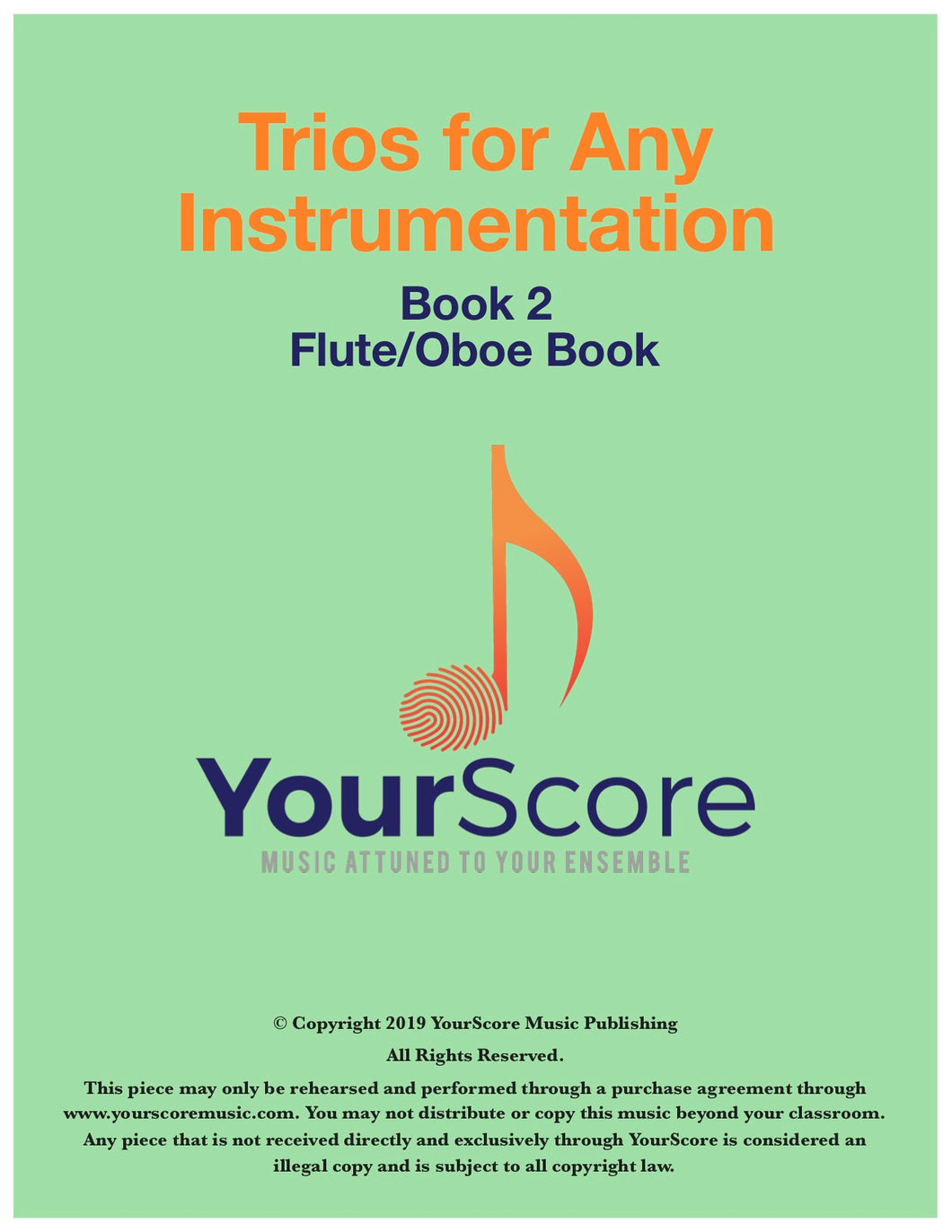 Trios for Any Instrumentation Book 2: Standard Trios