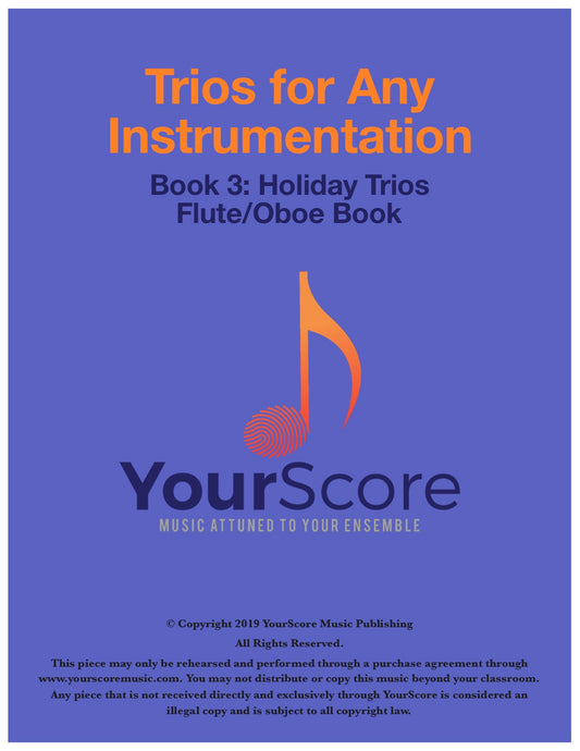 Trios for Any Instrumentation Book 3: Holiday Survival Kit