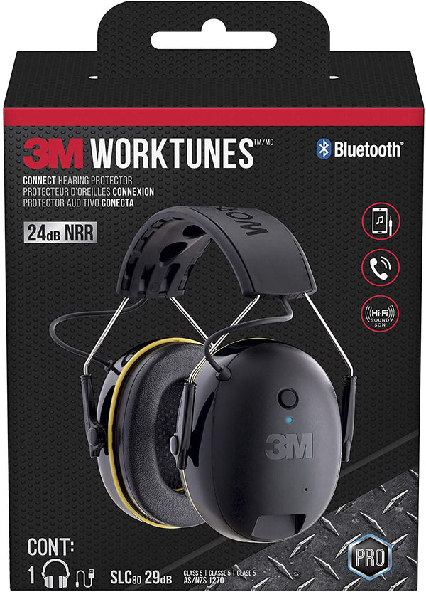 3M™ WorkTunes™ Connect Hearing Protector with Bluetooth® Technology