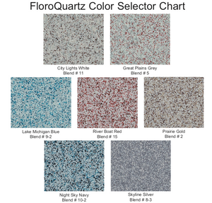 FloroQuartz Epoxy Colored Quartz Systems