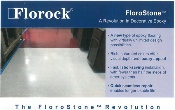 FloroStone™ – A Revolution in Decorative Flooring