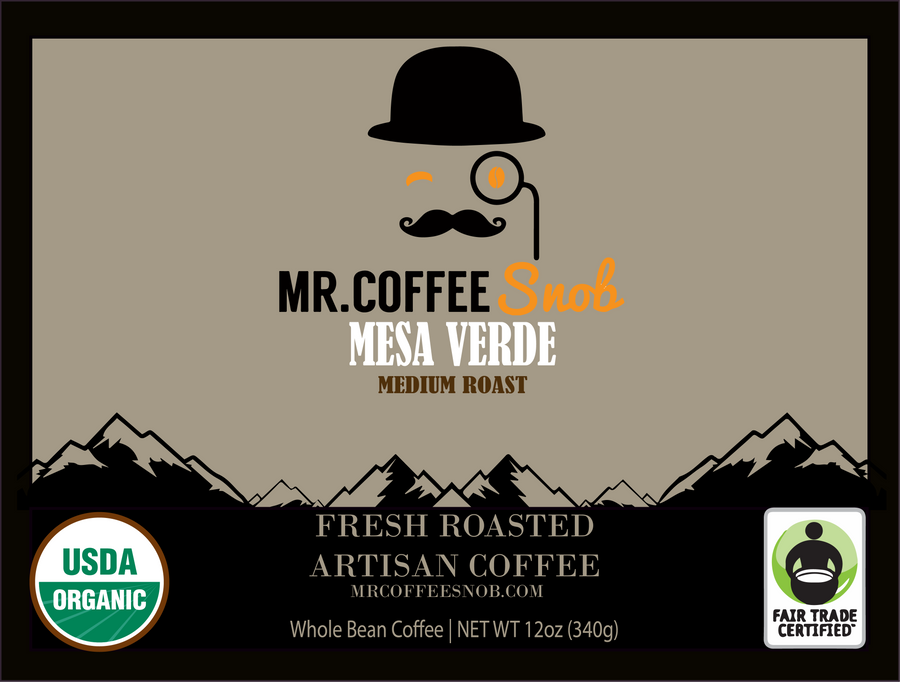 Mesa Verde USDA Certified Organic Coffee-Medium Roast