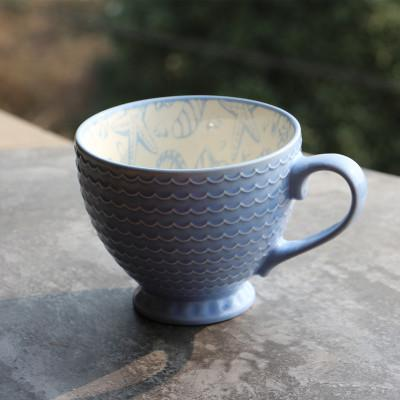 Hand Painted Ceramic Coffee Cup