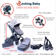 Carrito RB2 - Rocking Baby