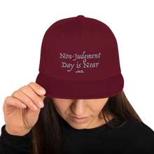 Load image into Gallery viewer, Non-Judgment Day is Near - Snapback Hat