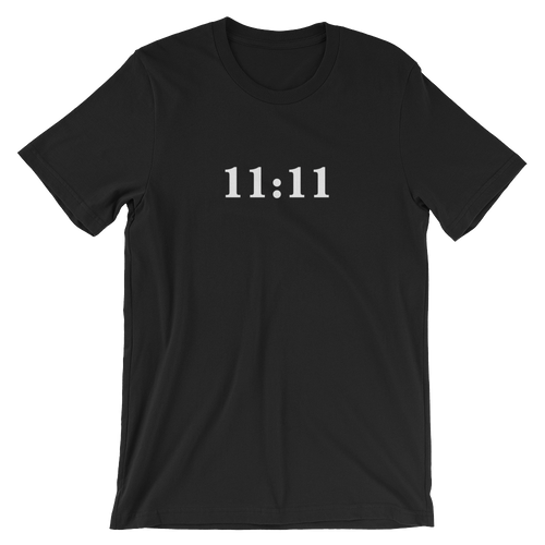 11:11 Short-Sleeve Unisex T-Shirt -Dark
