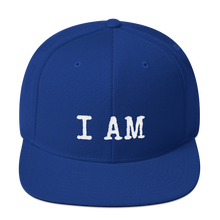 Load image into Gallery viewer, I AM - Snapback Hat