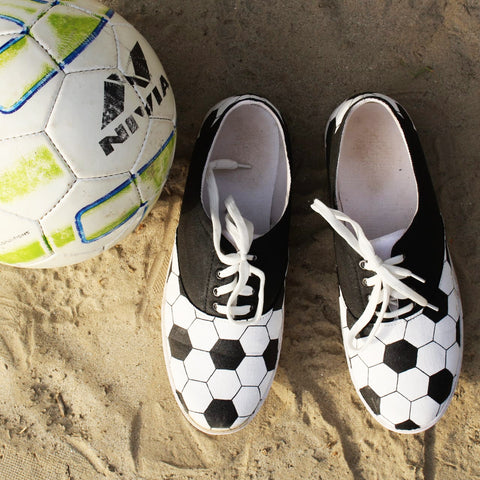 Football Pattern Men Shoe