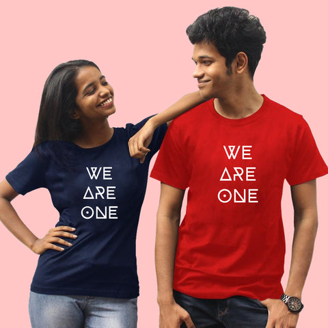 We are One Matching Friends Tees