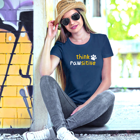 Think Pawsitive T-shirts for Women