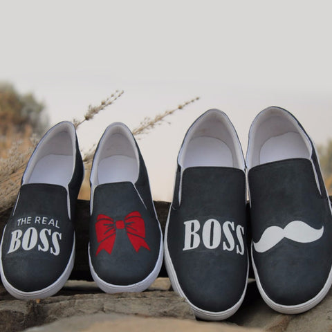 Bow -Tie Couple Shoes